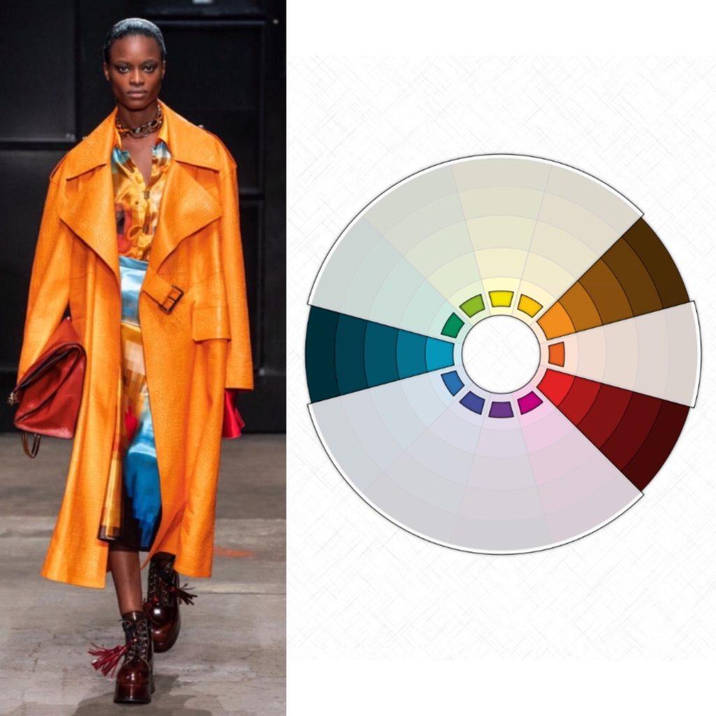 Расщеплённое сочетание цветов в одежде