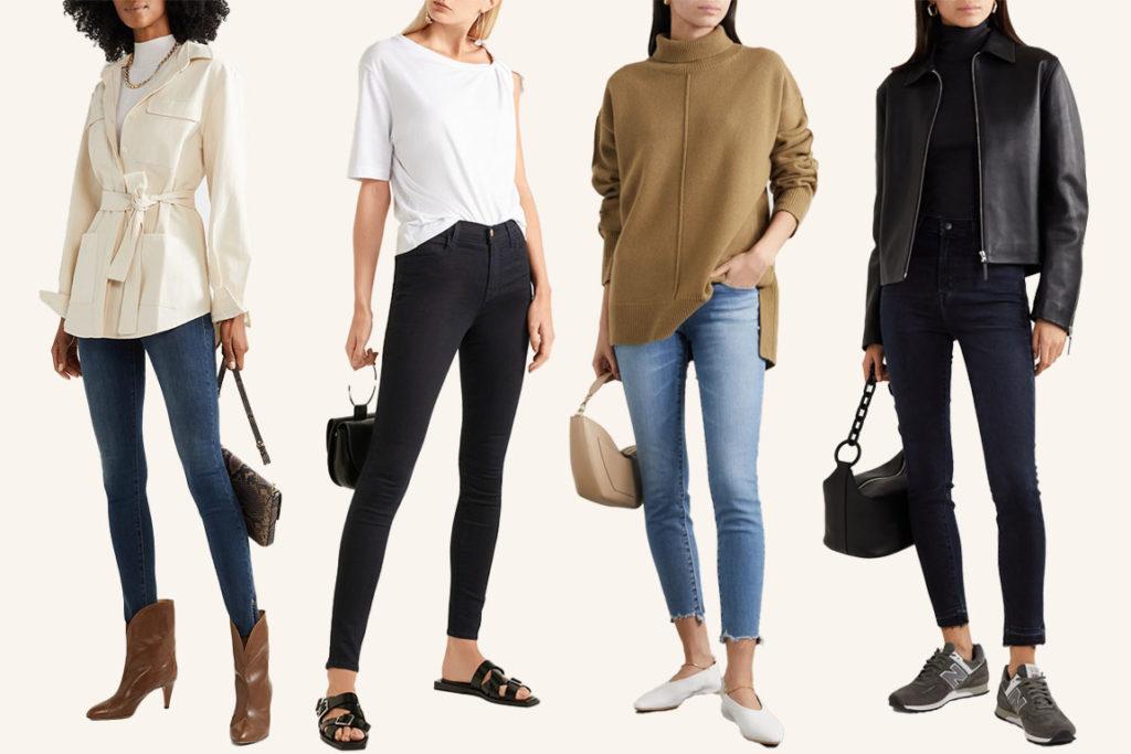 Джинсы скинни skinny jeans как и с чем носить