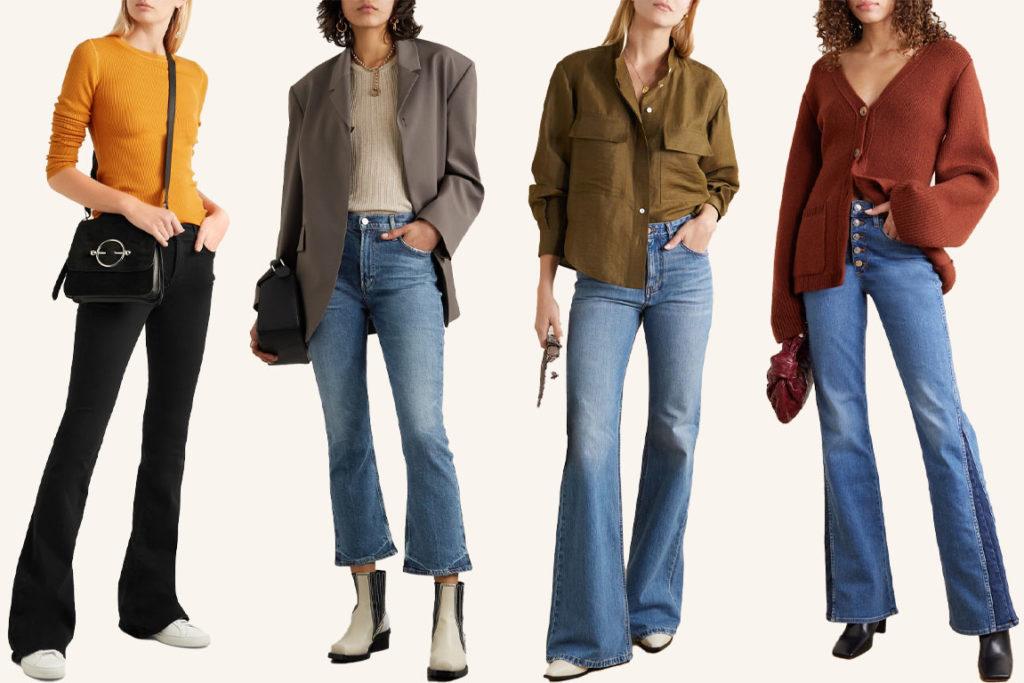 Джинсы клёш как и с чем носить bootcut jeans