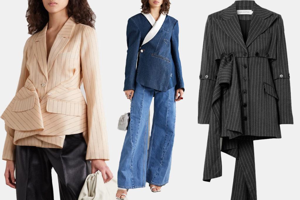 Креативные женские пиджаки