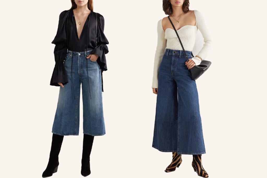 джинсы кюлоты как и с чем носить