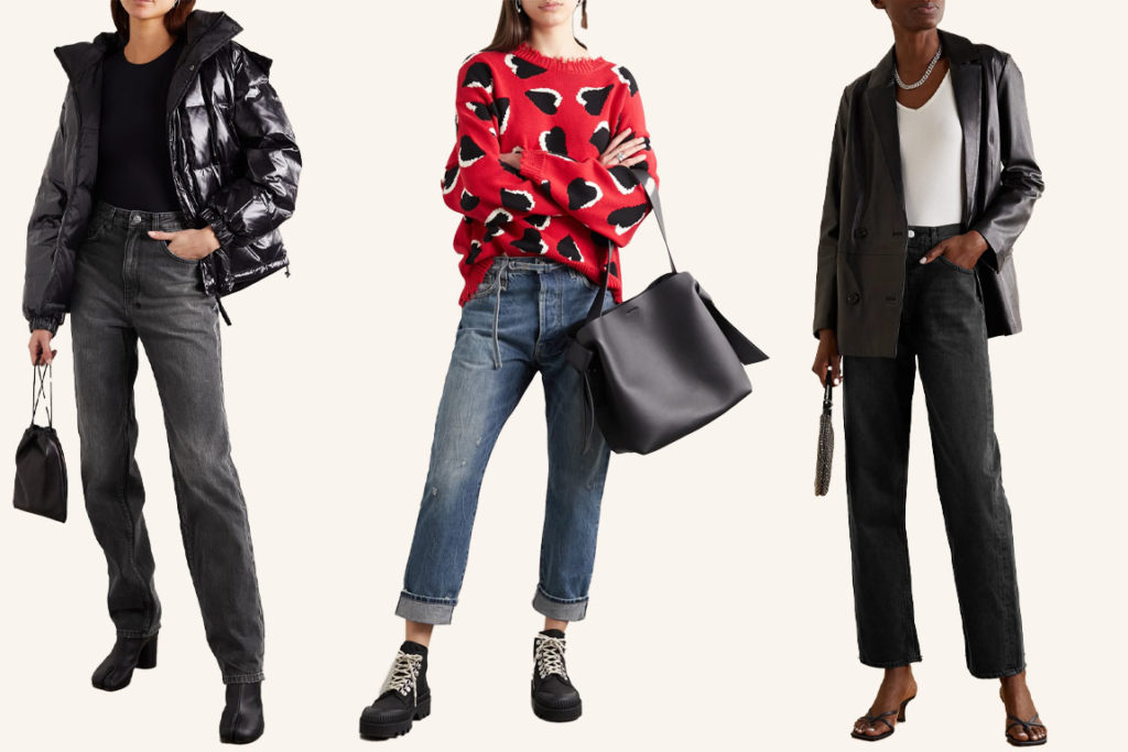 Прямые джинсы (regular fit, straight leg) как и с чем носить