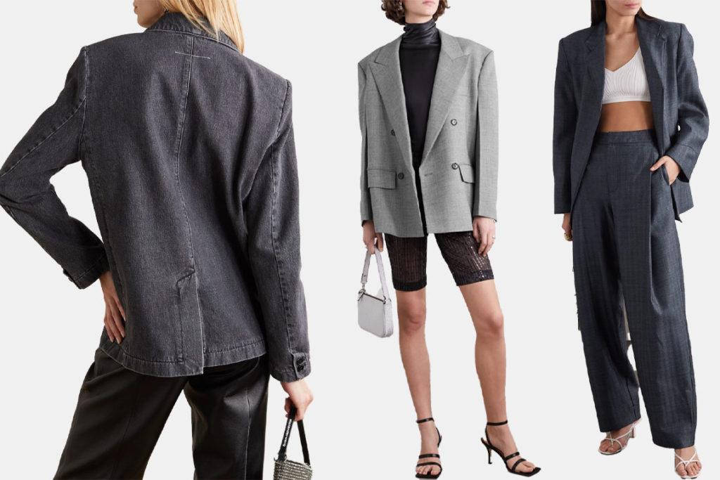 пиджаки в мужском стиле