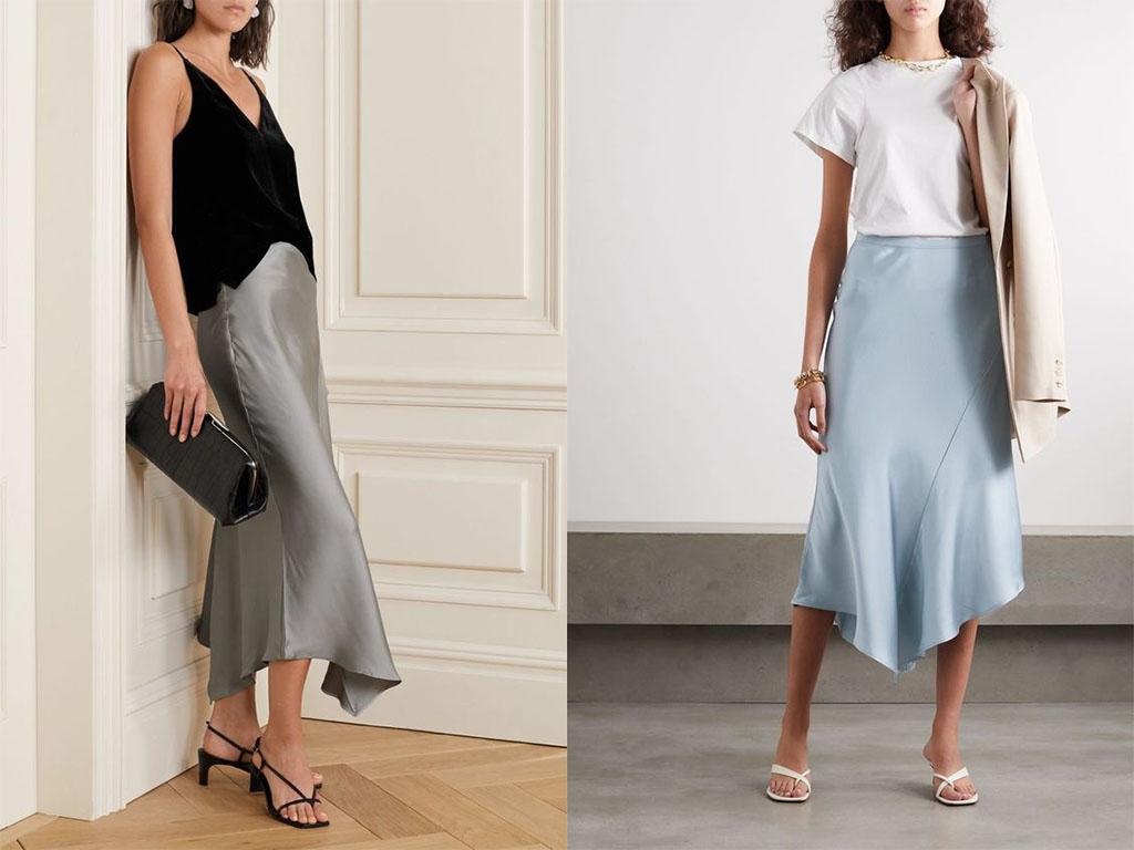 юбка в бельевом стиле